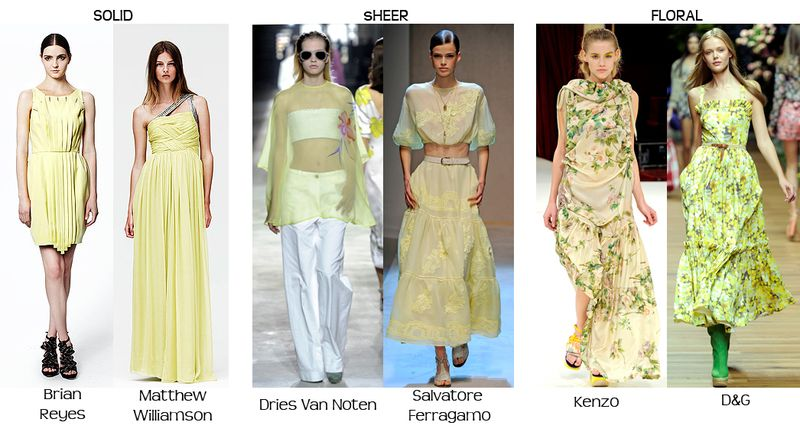 Designer-fashion-citrus-yellow-color-trend-2011